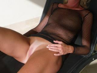 They are just right sweetie...just like that juicy pink pussy and those sexy hard nipples of yours.  I'd want to suck on them a lot....even on the balcony where people could see us.  G
