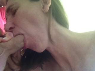 Yes...yessss. yessssssssssss I want to experience her fabulous talents and suck this big hot dick off!  Big dick....big loads...!