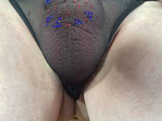 Good decision! Love the look of your cock through them!