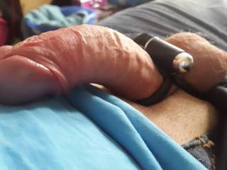 My new vibrating cock ring....