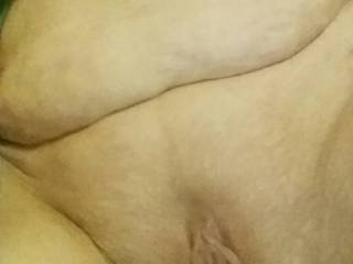 Girlfriends pussy just after being shaved by a friend