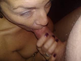 She gave a good blowjob before fucking