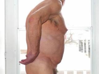 Grandpa showing off again!