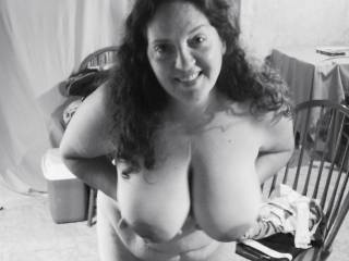 mm what a gorgeous and hot pic love ur gorgeous body and breasts babe mmm can just imagine licking ur awesome nipples.