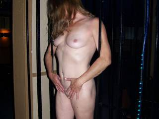 With a drop dead gorgeous body like that you'll never be short of attention! I for 1 would love to lavish those breath taking pert perfect nipples with long wet licks and sucking slurps to get you started. Truly stunning pose gorgeous! :)