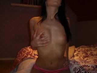 cum suck on my hard nipples
