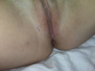 wish i could squeeze my cock into that tight pussy but only after i licked you for a long time