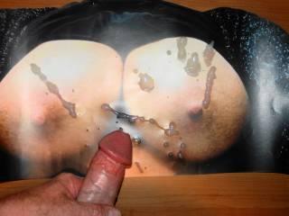 Unloaded my warm cum on Tasty71\'s sweet tits!