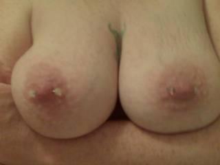 Like my big tits and peirced nipples?