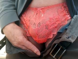 So erotic wearing panties in secret