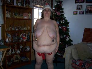 id love to find you under  my tree yr a sexy lady