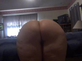 heres my big butt,rub your cock on it please