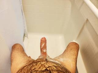 getting soapy and hard in here. Come and join me.
