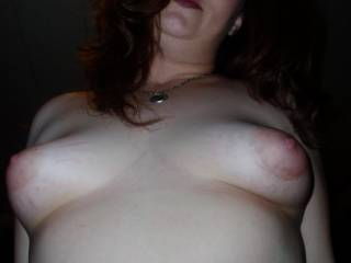 these r suckable tits...wanna suck it till the last...wanna be crazy on ur breast...