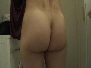 An entire clip dedicated to a gorgeous naked ass!  Fabulous.  I love those cheeks of hers...had my cock throbbing right from the start!  I'm begging ya for more clips like this...there just arent enough of them on the site. So many ass-lovers out here...gotta please us too!  Thanks for sharing!!!!!!!!!