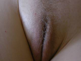 my wife's sweet little slit. She shaved nearly all of it yesterday and surprised me! Would you like me to take a photo of your pussy for Zoig?