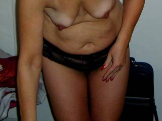 What you think about her small tits?