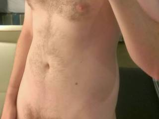 Soft cock and a little on the hairy side