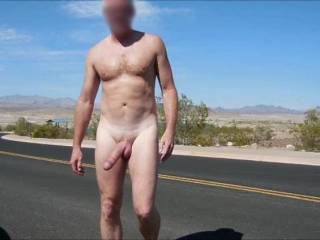 i love being outside naked.   if i saw you outside naked would you let me suck your cock
