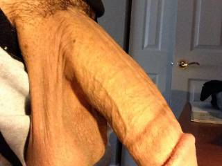 Man, my girl would love to suck and drain those huge balls.