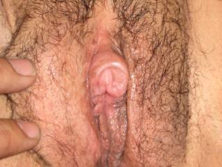 I would love to suck that big clit into my mouth until she gushes all over my face.