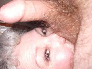 my girlfriend make some handjob , and get some facial