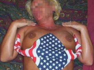God Bless America!! We are USAF!! and you are Sexy Baby!!