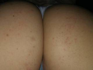 Jerk that cock for me. Think about enterning me from the back. This big butt...all yours!