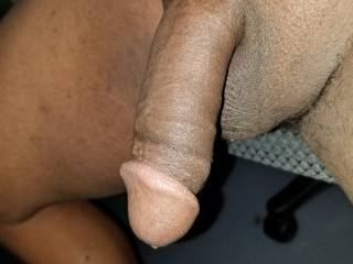 This needs to be sucked...any volunteers. I see plenty of women on here that could get it nice and hard...then it\'s time for some real fun...