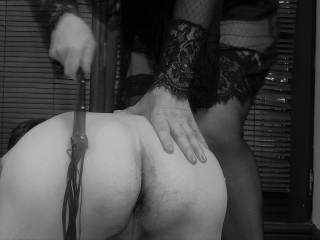 Helping out a local bored housewife who thinks she can be a Domme