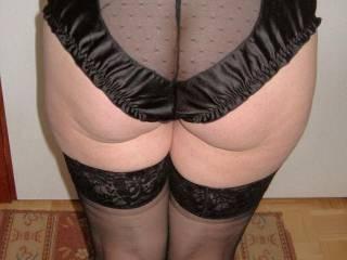 My panty butt.