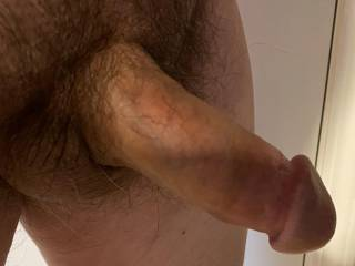 Another shot of my thick cock.