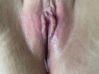 Quick view of my all wet pussy, hungry as hell for cum