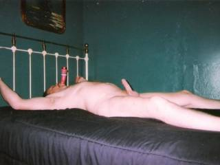 pink vibrator in my wanting mouth