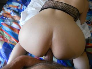 That's a beautiful shaped ass and I'll bet a nice tight fitting butt hole. I hope you tongue it before you fuck it!