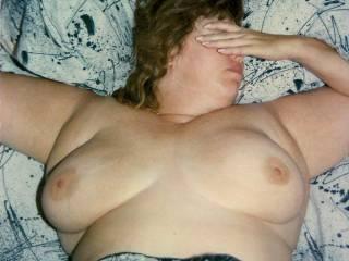 K\'s wonderful 40DD, big tits.
