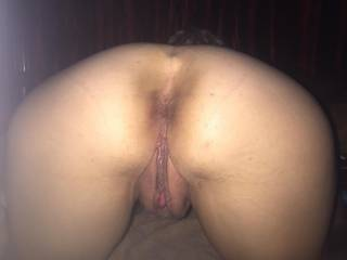 I love her juicy pussy but she begs for it in her ass