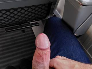 Good journey with Deutsche Bahn ! Cock in a public train is risky but that was exciting !