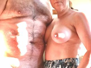 Milf with her small dicked husband
