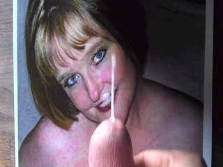 Omg that's some creamy load and so much I love it keep up the good work hun you are very good at it xxx