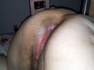 i licked her asshole clean before my man fucked her