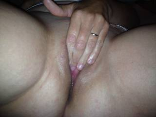 Mmmm.. rub that big juicy pussy