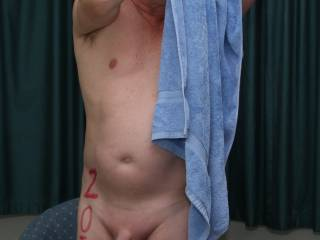 The Bath Towel challenge  is certainly tricky when it\'s been -2° overnight. Think I need another hot shower after that.