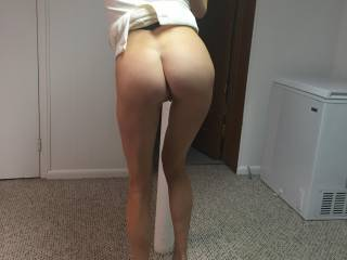 Anytime her clothes start to come off would be a perfect start . I love her long slender legs and the way they meet up with that adorable ass
