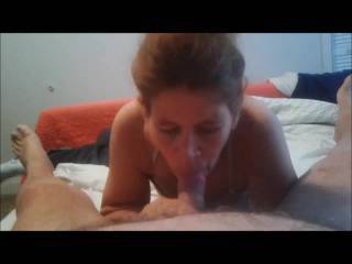 Laura gives me a blow Job I am looking for new girls that can give a blow job as good as hers.
