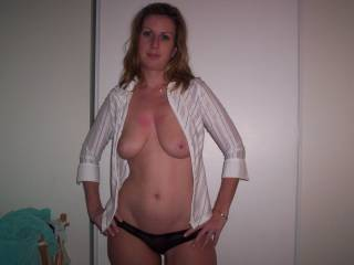 Very sexy Suzie!.  I love the pose and would love to suck and nibble on those nipples!