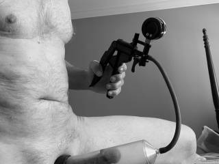 love pumping up my cock, love the pressure and pleasure it brings . love pulling my cock out and finishing with a nice jerk off