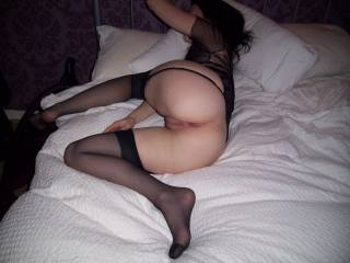 hubby loves to fuck me in this position