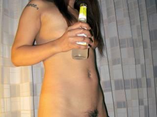 Thai girl Nat, nice and thirsty...