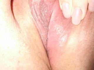 i'm actually wet and was very horny